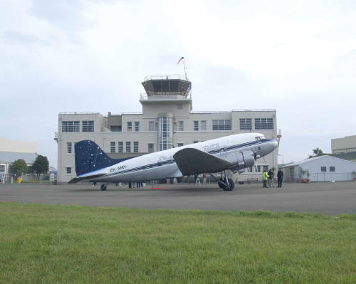 DC3 and Wigram Tower